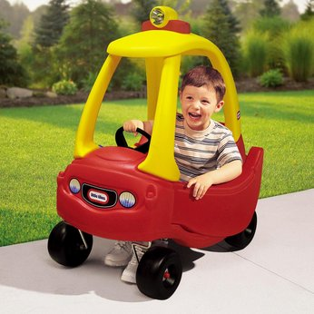 the yellow excavator giant red truck construction trucks 3d kids cartoon cars trucks stories 1339437947_little_tikes_princess_cosy_co
