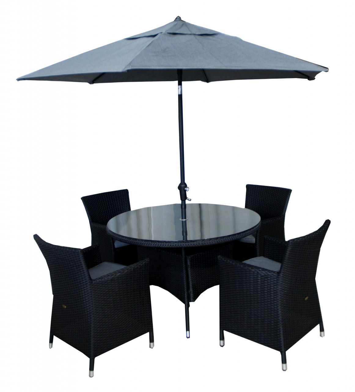 por rattan cube garden furniture 4 seater rattan cube set