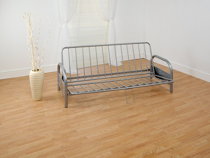 Futon sofa bed frame only for Divan double bed frame