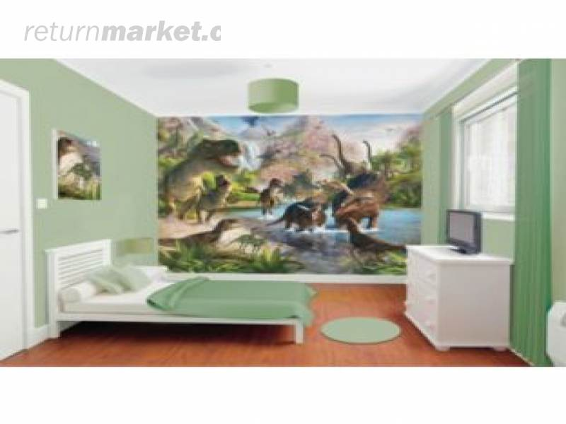Clearance store returns for Dinosaur land wall mural