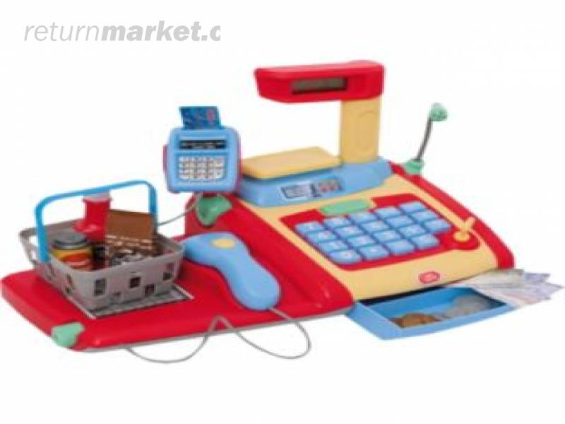 Deluxe Toy Cash Register : Toy returns from the uk