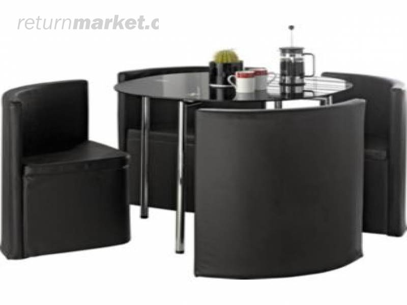 space saver kitchen tables black white | Flat packed furniture returns from England!