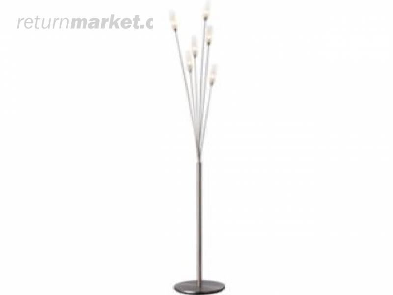 Lighting returns from england sa7990 for Hyatt 6 light floor lamp brass