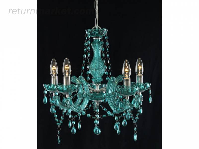 small teal handmade product glass recycled lampshade titania in lights blue lovers double sky chandeliers chandelier