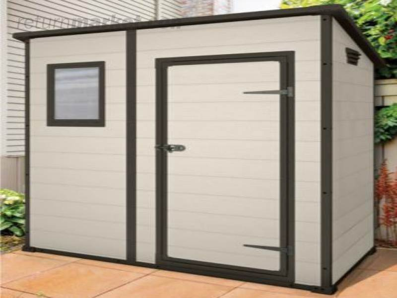 Outdoor and seasonal products sa8058 for Plastic pent shed