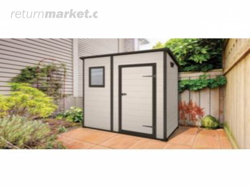 Shed plans 84 lumber plastic shed pent for Plastic pent shed