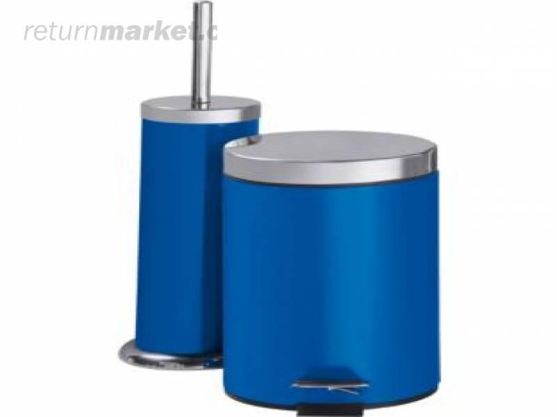 Bathroom accessories from england sa8417 for Blue bathroom bin