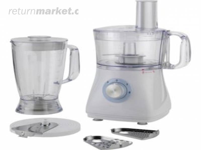 Cookworks Food Processor Stainless Steel