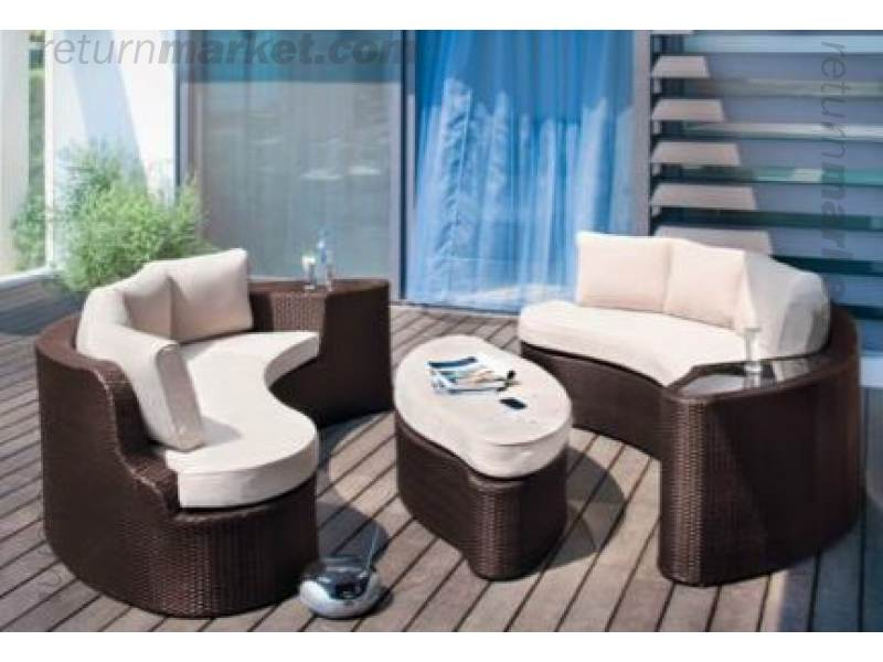 2 Seater Rattan Effect Egg Patio Furniture Set With Cushions & 2 Seater Rattan Effect Egg Patio Set With Cushions | www ...