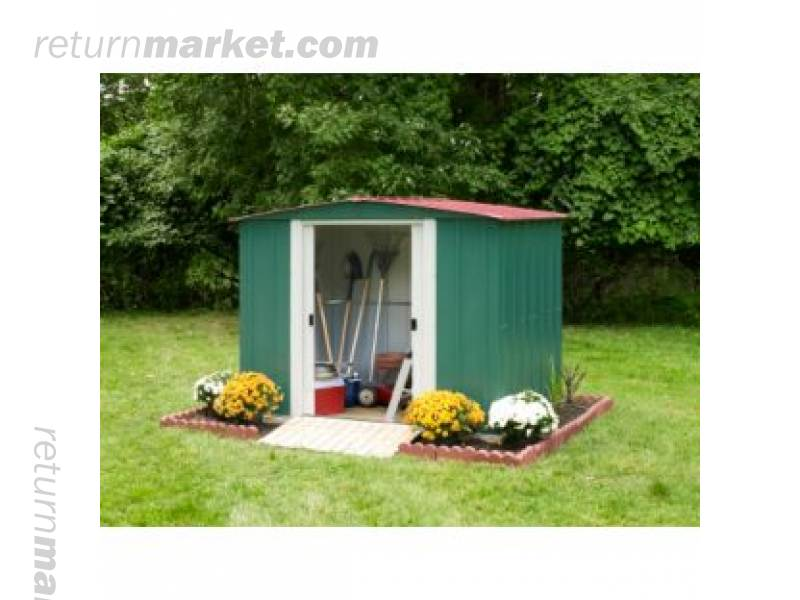 arrow 8x6 metal shed instructions