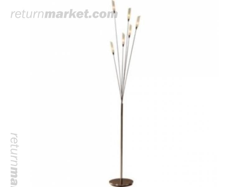 Lighting customer returns sa12704 for Hyatt 6 light floor lamp brass