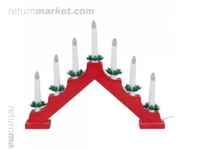 Lighting customer returns sa15145 for Arch candle christmas decoration