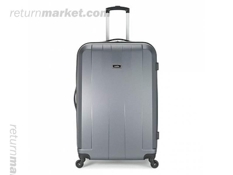 1451248079 antler quadrant large 4 wheel suitcase charcoal. ... fc3e366804d39