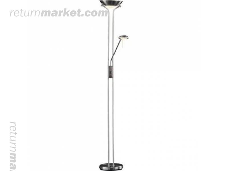Lighting goods in hungary bb0201 for Torchiere uplighter floor lamp brushed chrome