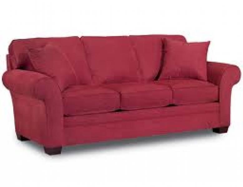 leather fabric sofa returns