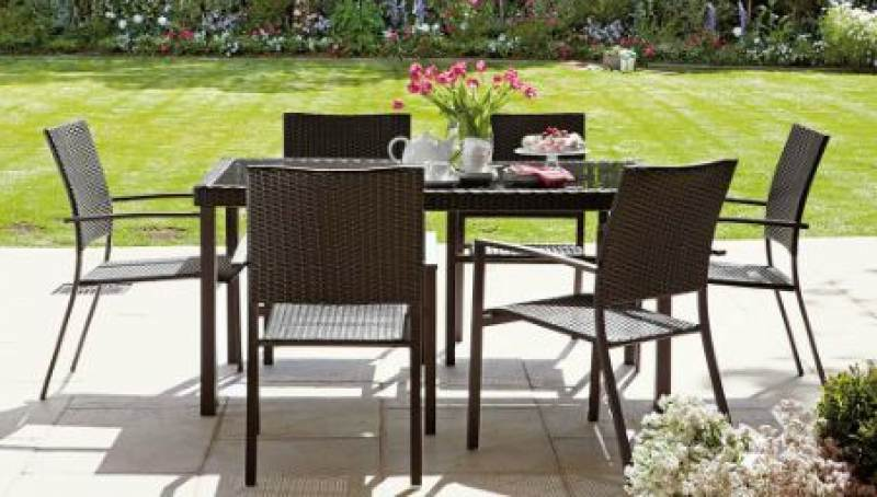 Brand new modern outdoor furniture sets for Outdoor furniture brands