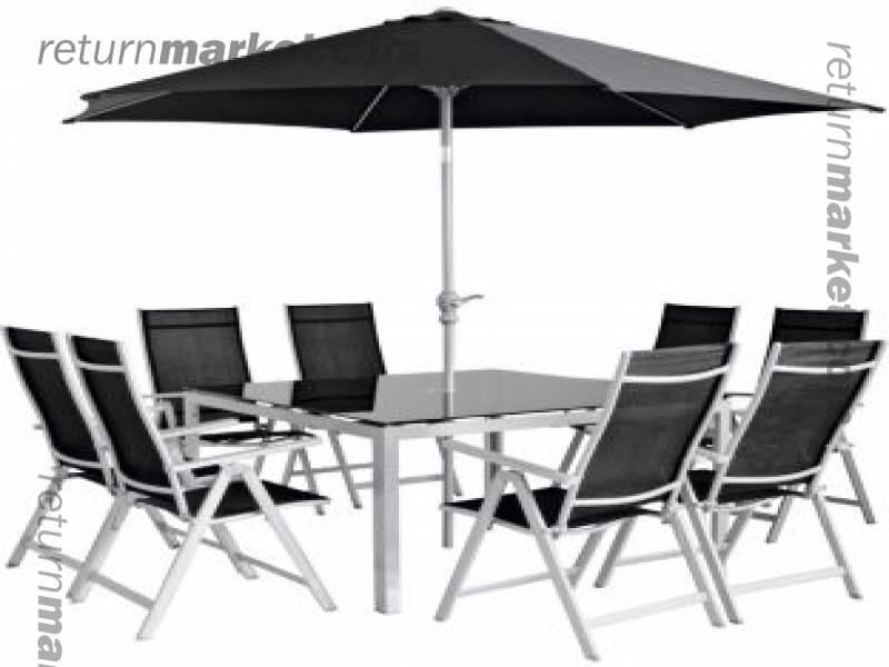 ... 6 Seater Wooden Garden Furniture Exhort Me. Outdoor And Seasonal S  Sa9659